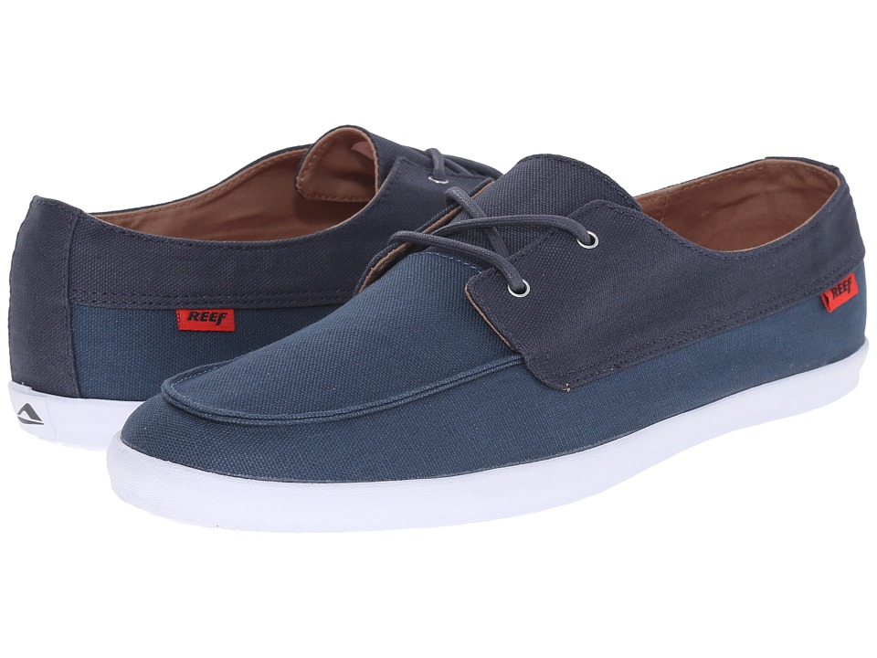 Reef - Deckhand Low (Navy/Blue) Men's Shoes