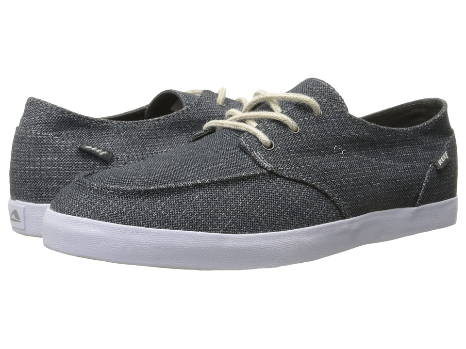 Reef - Deck Hand 2 TX (Charcoal/Charcoal) Men's Lace up casual Shoes