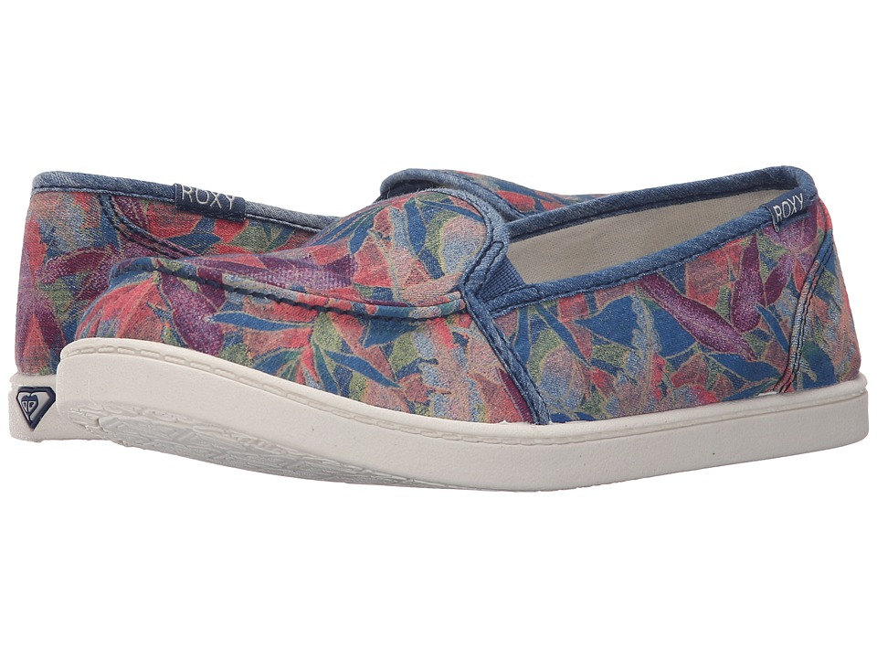 Roxy - Lido III (Blue Haze) Women's Slip on Shoes
