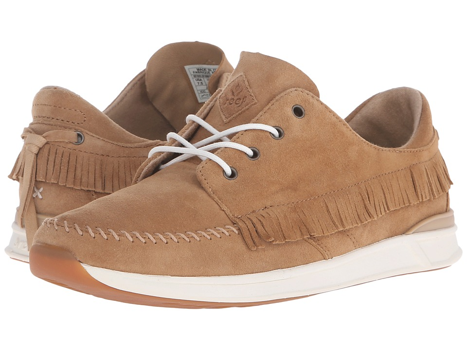 Reef - Rover Low Fashion (Tan) Women's Lace up casual Shoes