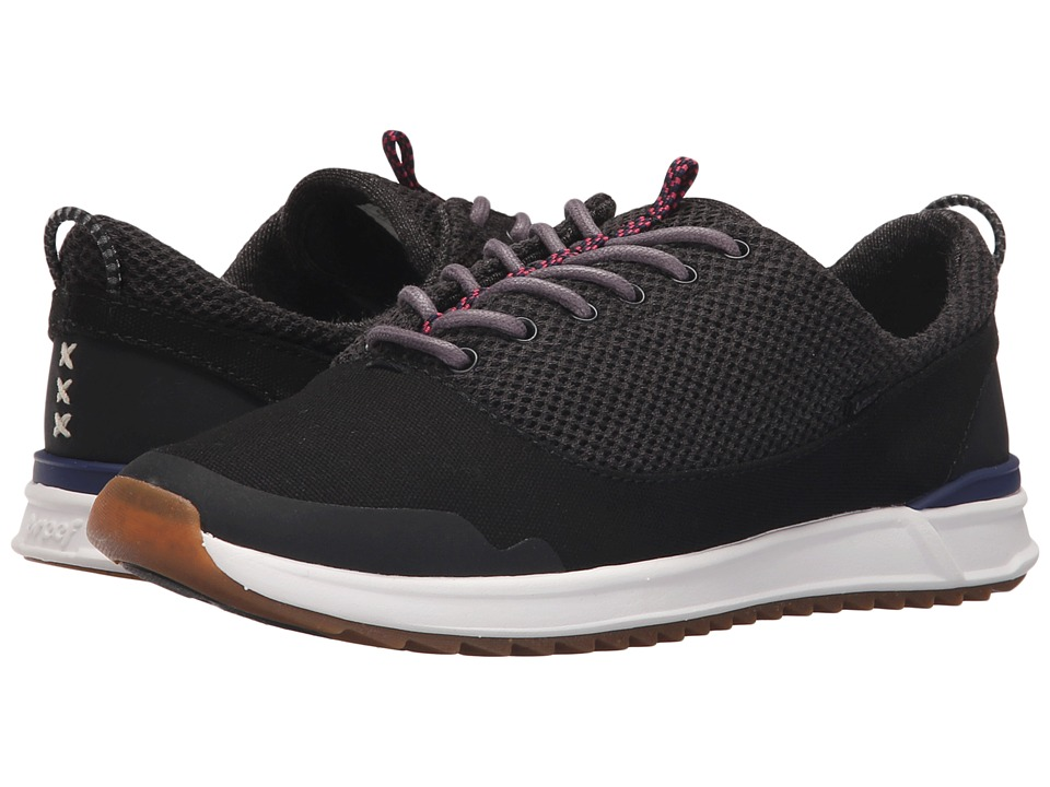 Reef - Rover Low XT (Black) Women's Lace up casual Shoes