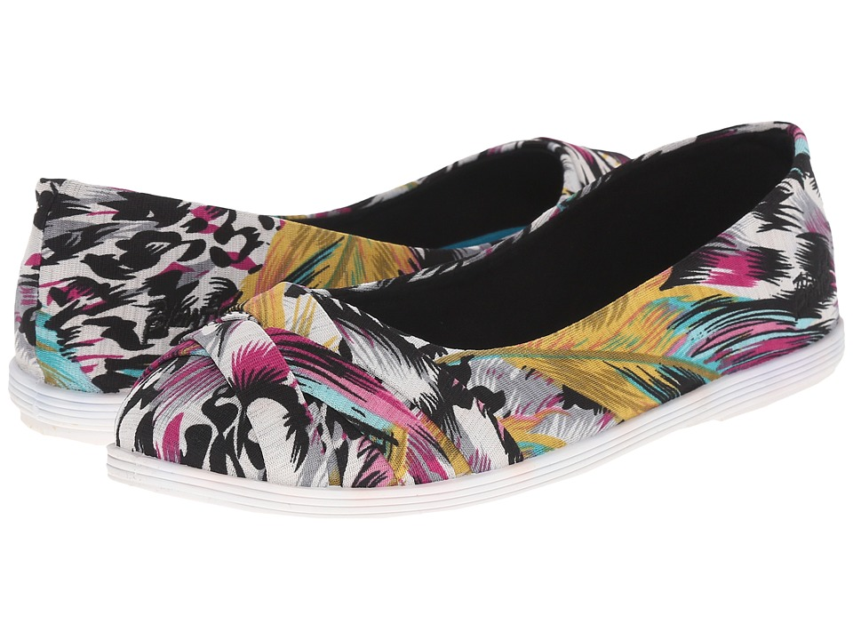 Blowfish - Glo (Black Bali Print) Women's Flat Shoes