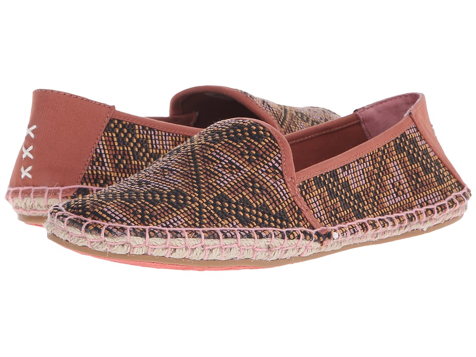 Reef - Shaded Summer ES (Rust Raffia) Women's Flat Shoes
