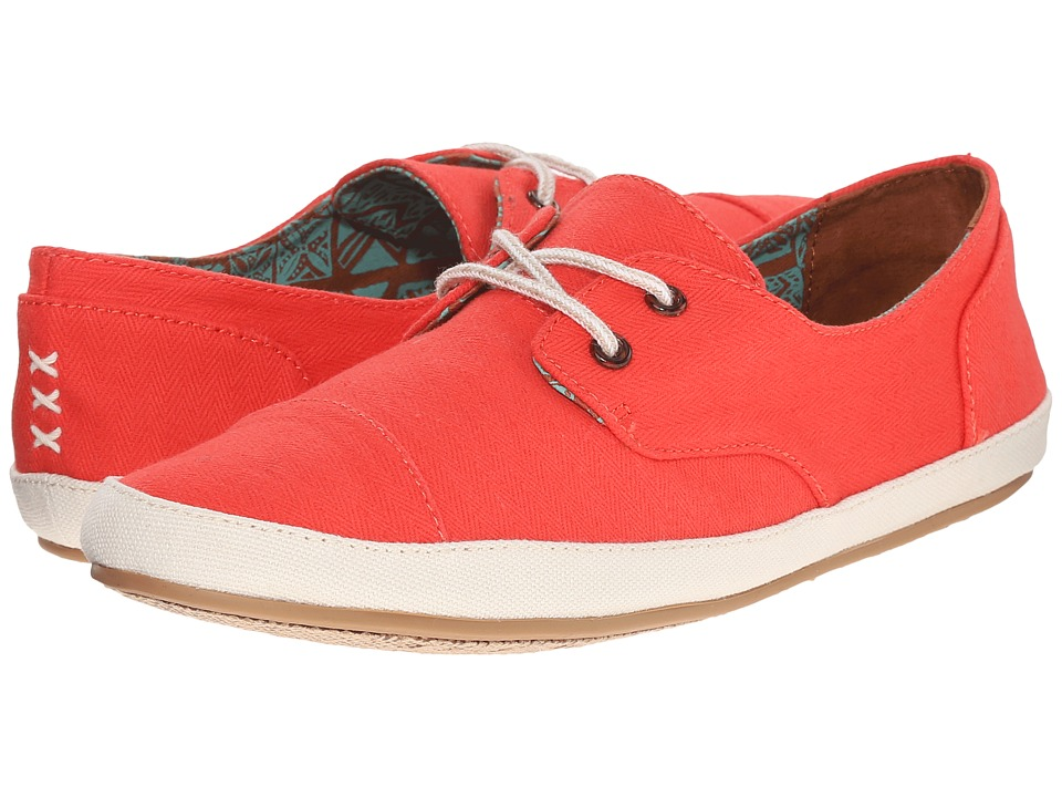 Reef - Escape (Red) Women's Lace up casual Shoes