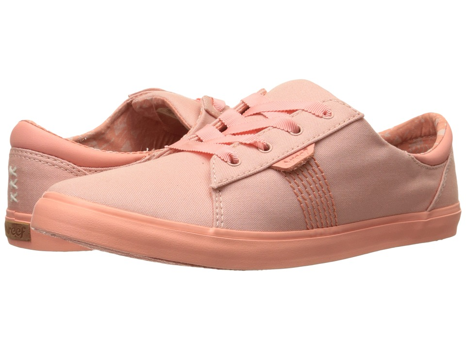 Reef - Ridge (Pink) Women's Lace up casual Shoes