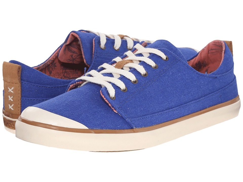 Reef - Walled Low (Blue) Women's Lace up casual Shoes