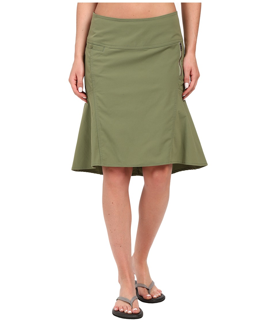 Royal Robbins - Discovery Strider Skirt (Aloe) Women's Skirt