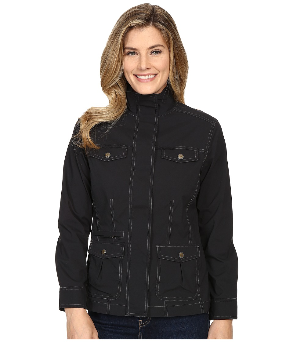 Royal Robbins - Discovery Jacket (Jet Black) Women's Coat
