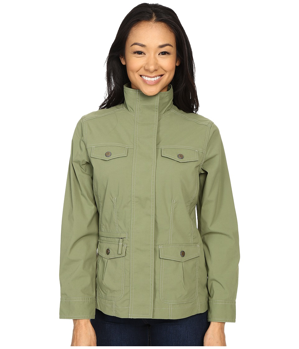 Royal Robbins - Discovery Jacket (Aloe) Women's Coat