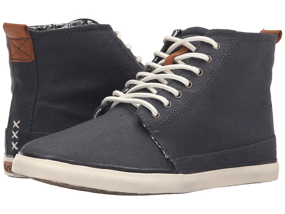 Reef - Walled (Black) Women's Lace up casual Shoes