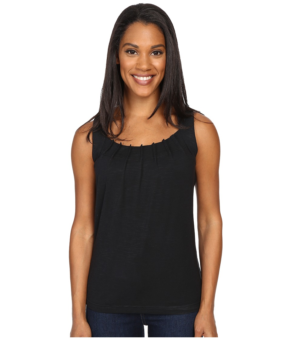 Royal Robbins - Noe Pleated Tank Top (Jet Black) Women's Sleeveless