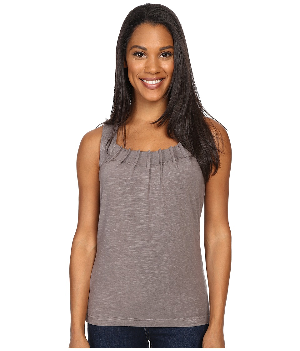 Royal Robbins - Noe Pleated Tank Top (Taupe) Women's Sleeveless
