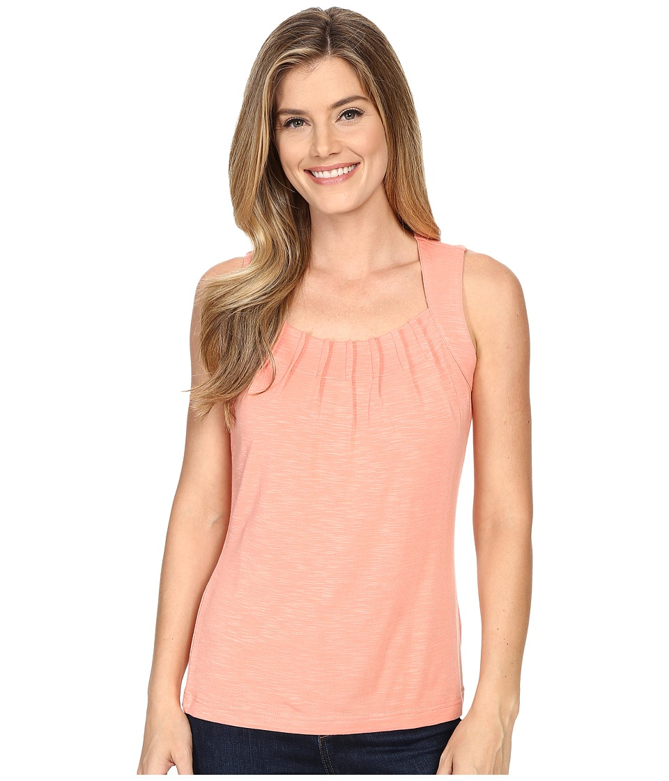 Royal Robbins - Noe Pleated Tank Top (Mai Tai) Women's Sleeveless