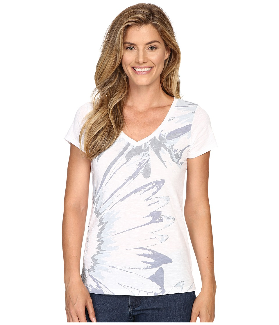 Columbia - Daisy Daze Short Sleeve Tee (White) Women