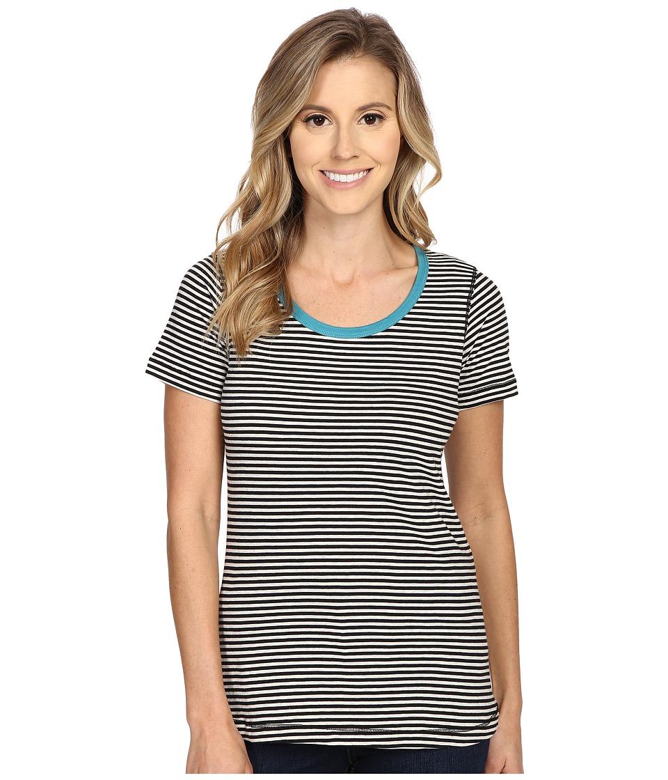 Aventura Clothing - Greer Short Sleeve (Black) Women's T Shirt