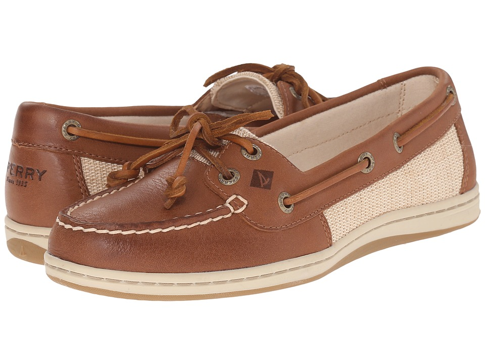 Sperry Top-Sider Firefish Cross Hatch Canvas (Tan) Women