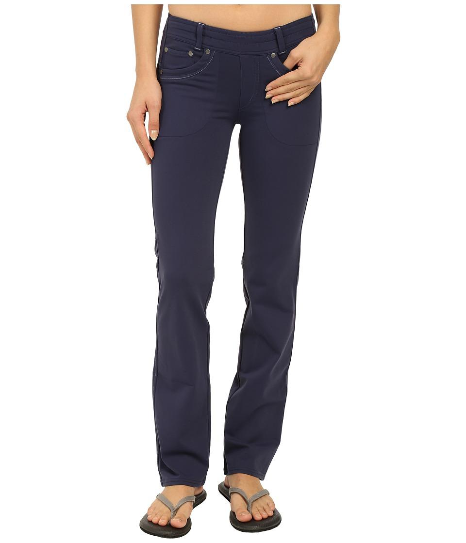 Kuhl - M va Straight Fit Pants (Denim Blue) Women's Casual Pants