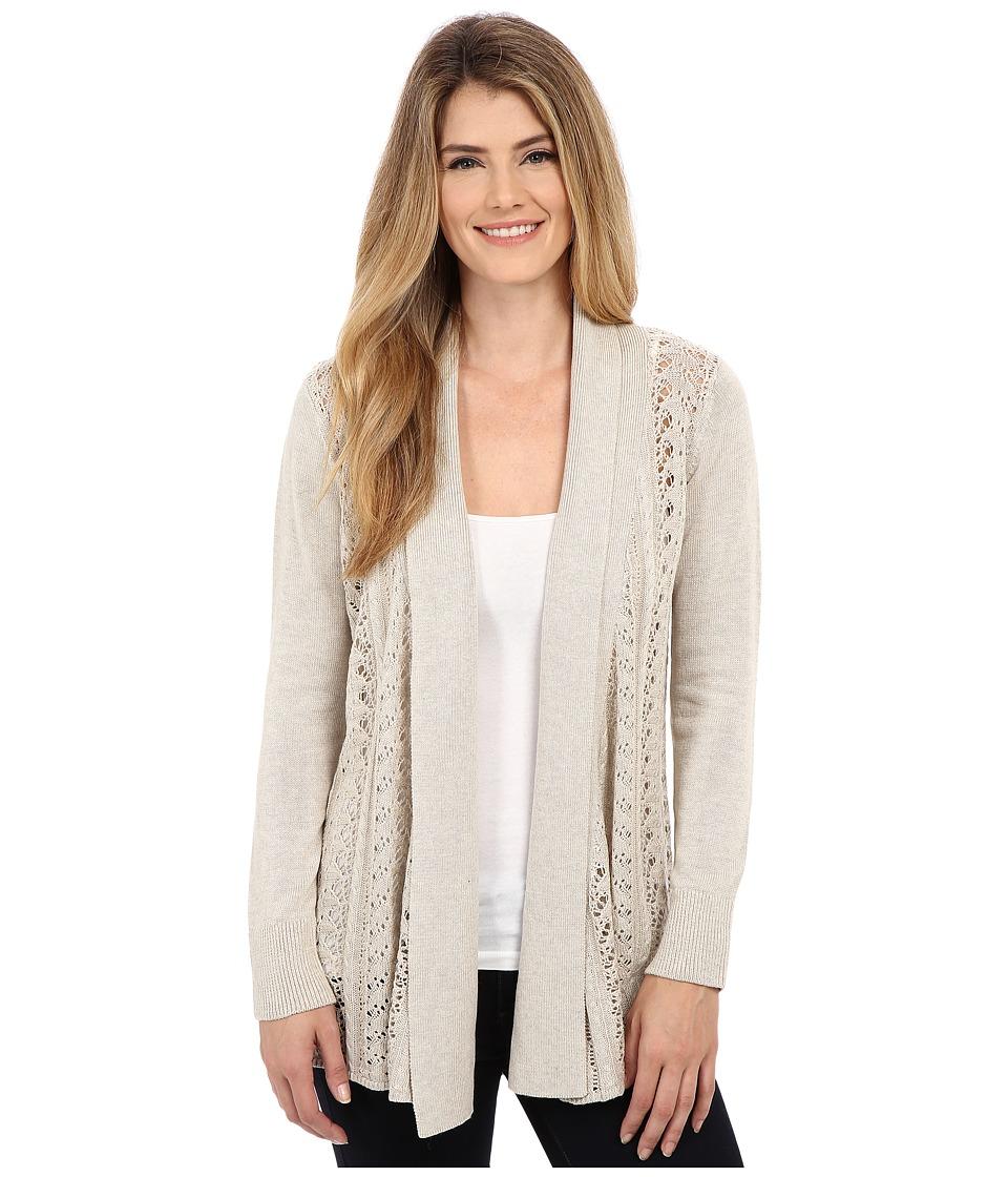 Royal Robbins - Cascada Pointelle Cardi (Light Khaki) Women's Sweater