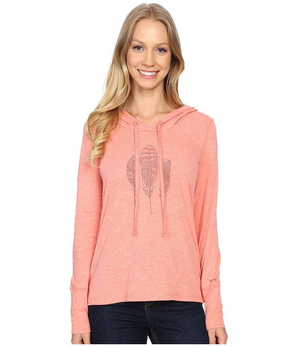 Columbia - Summer Nights Hoodie (Coral Bloom Heather) Women's Sweatshirt