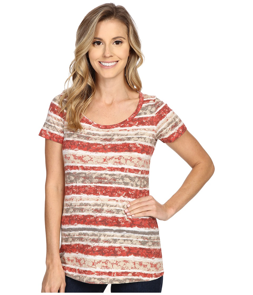 Aventura Clothing - Sunnyvale Short Sleeve (Spiced Coral) Women's T Shirt