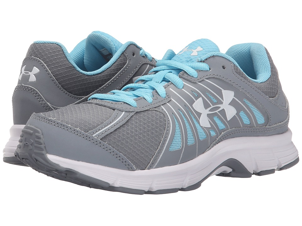 Under Armour - UA Dash RN (Steel/Sky Blue/White) Women's Running Shoes