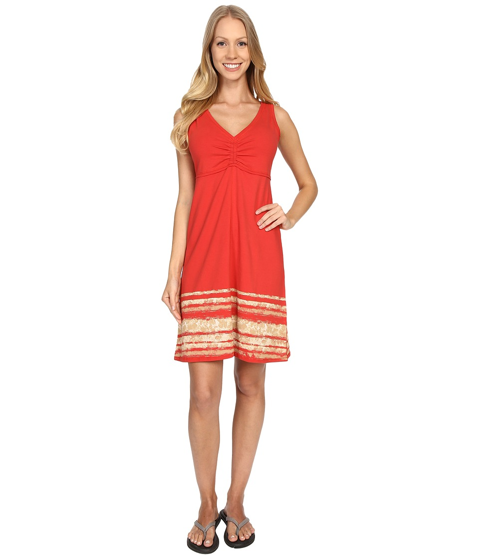 Aventura Clothing - Fleur Dress (Spiced Coral) Women's Dress