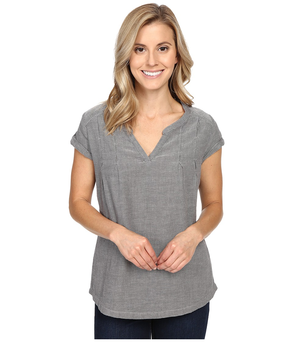 Royal Robbins - Cool Mesh Short Sleeve Top (Charcoal) Women's Short Sleeve Pullover