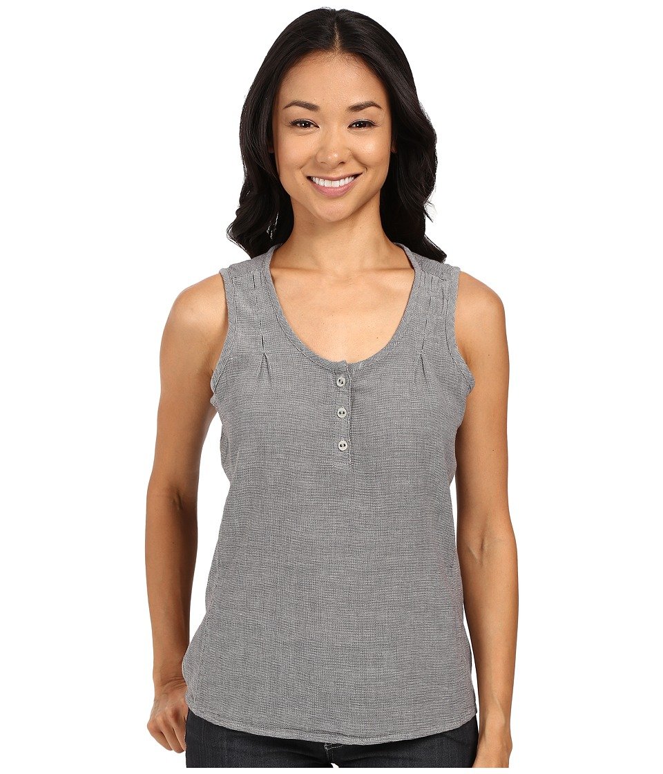 Royal Robbins - Cool Mesh Tank Top (Charcoal) Women's Sleeveless