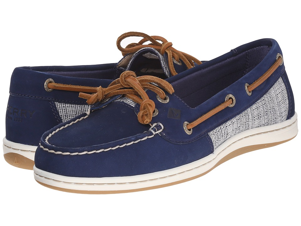 Sperry Top-Sider Firefish Cross Hatch Canvas (Navy Multi) Women
