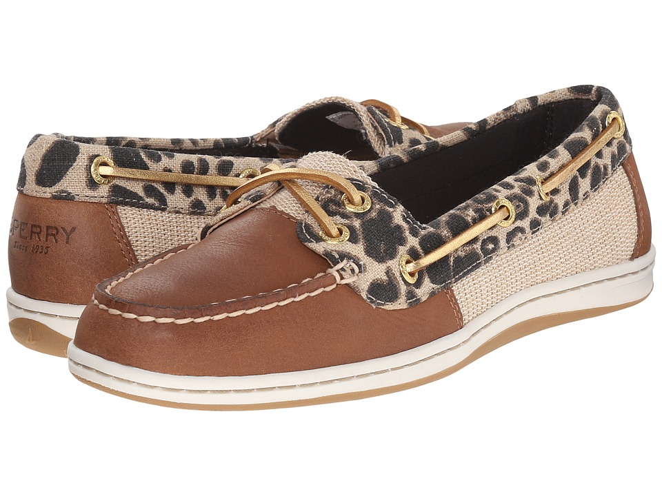 Sperry - Firefish Leopard (Tan Leopard) Women's Lace up casual Shoes