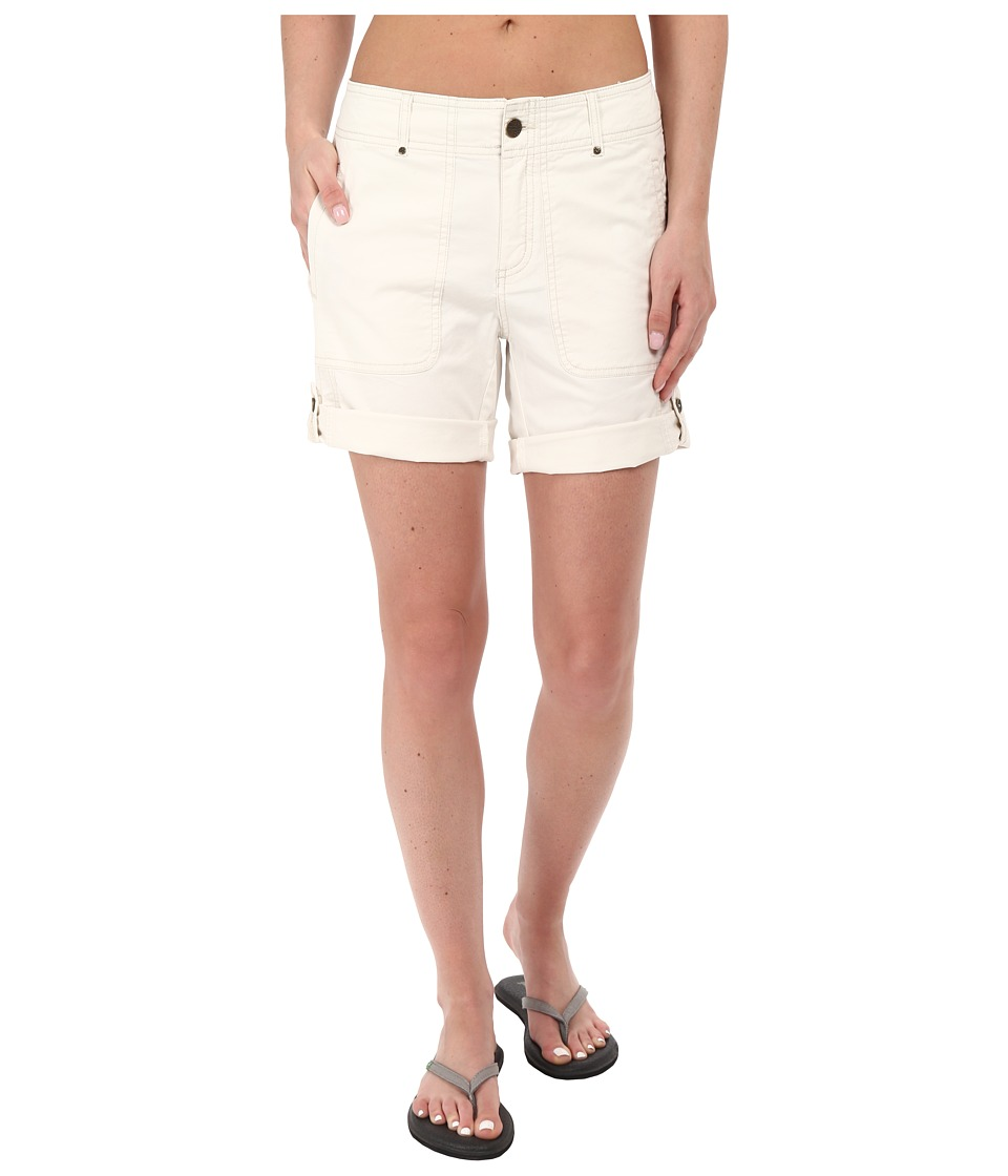 Royal Robbins - Marly Roll-Up Shorts (Cr me) Women's Shorts