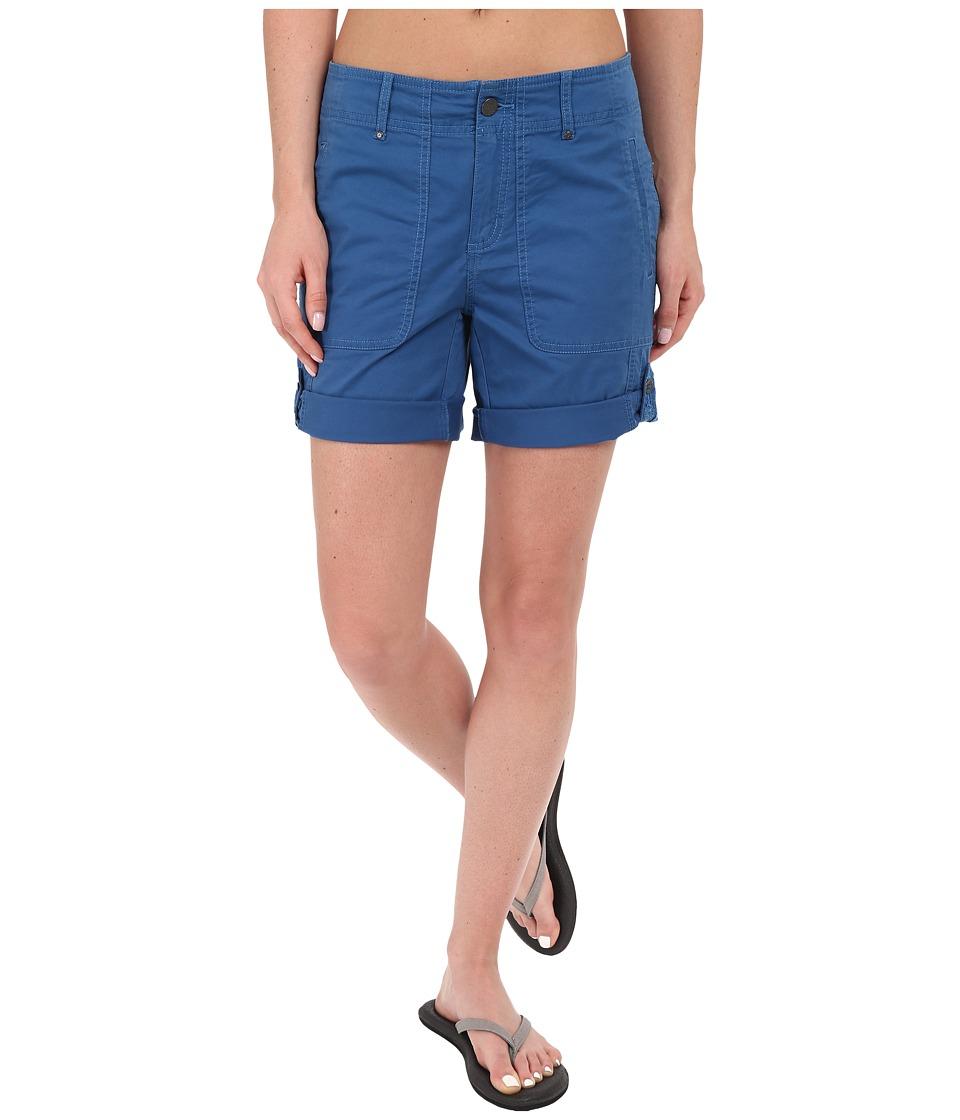 Royal Robbins - Marly Roll-Up Shorts (Dark Lapis) Women's Shorts