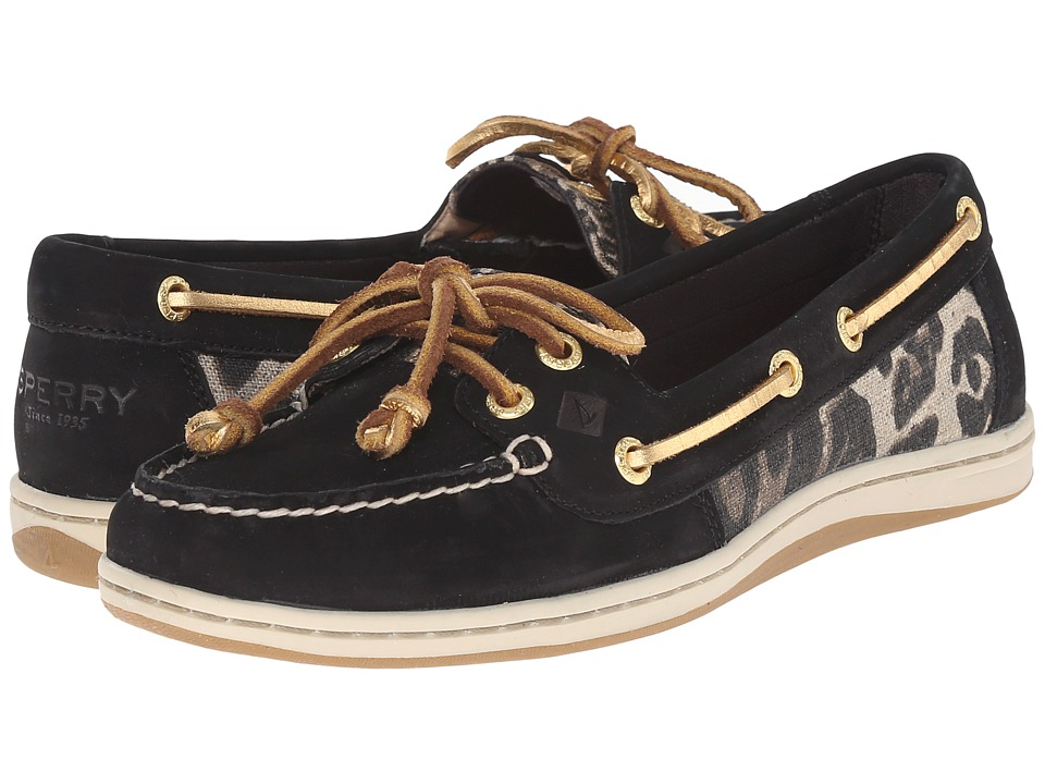 Sperry Top-Sider Firefish Leopard (Black) Women
