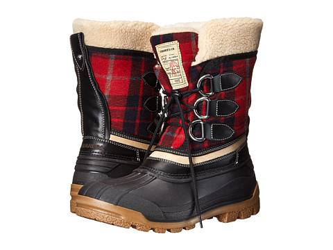 DSQUARED2 - Duck Snow Boot (Rosso Nero) Men's Cold Weather Boots