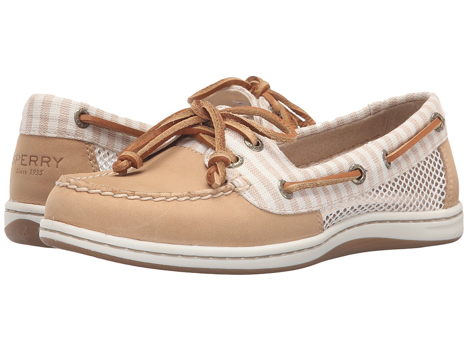 Sperry Top-Sider - Firefish Stripe Mesh (Sand) Women's Lace up casual Shoes