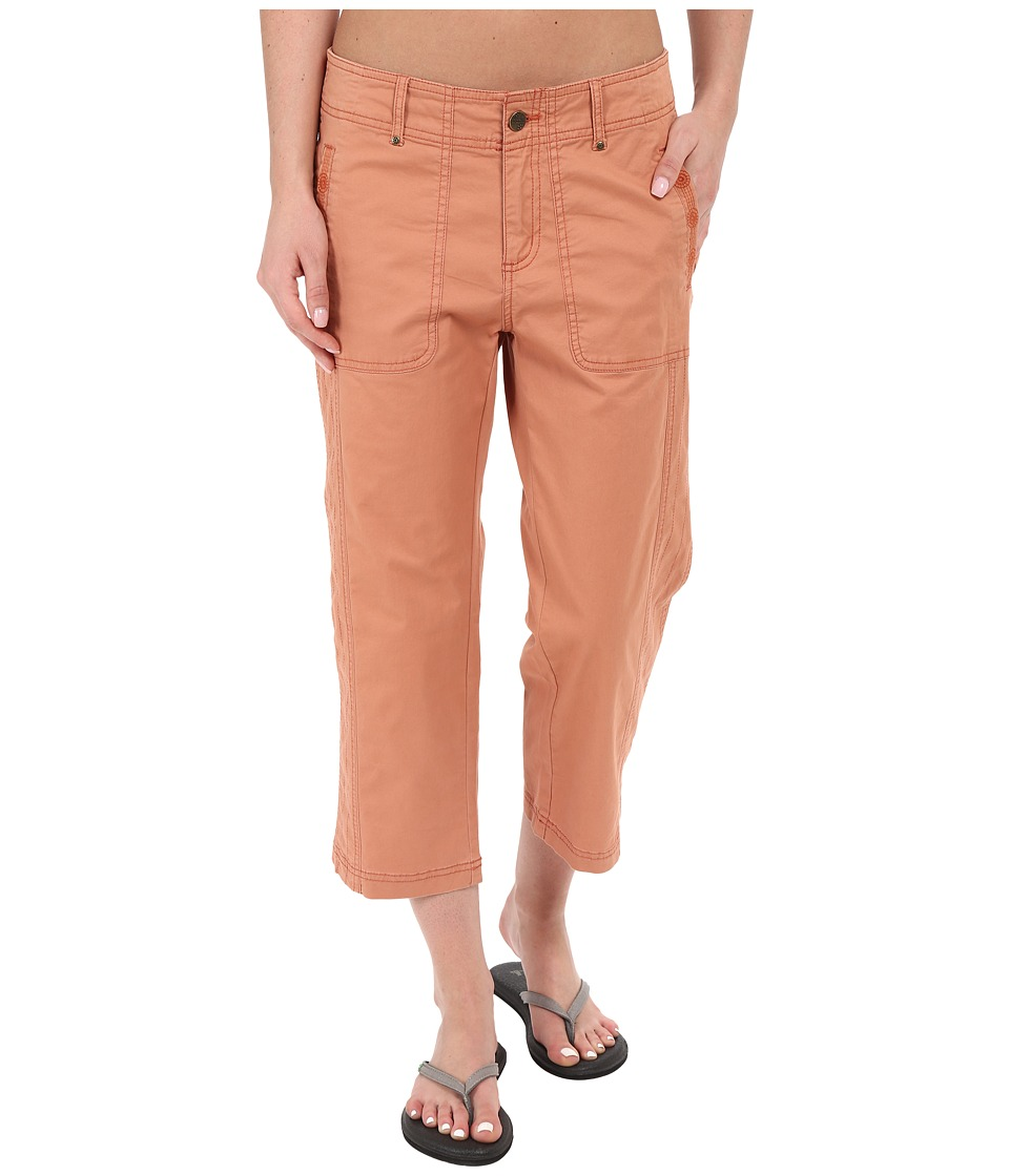 Royal Robbins - Marly Capri Pants (Pale Coral) Women's Capri plus size,  plus size fashion plus size appare