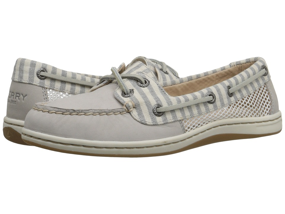 Sperry Top-Sider - Firefish Stripe Mesh (Light Grey) Women's Lace up casual Shoes