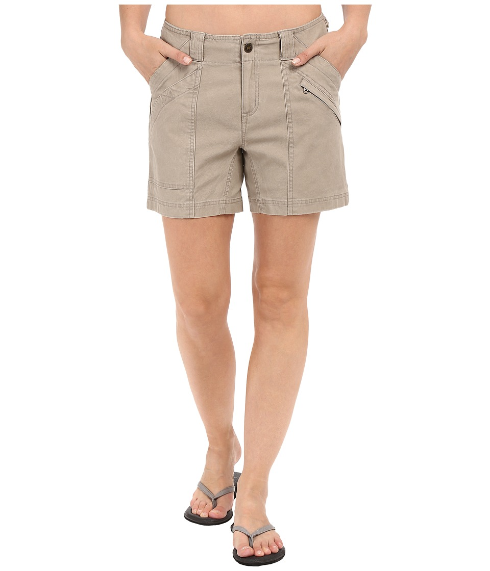 Royal Robbins - Backcountry Billy Goat Canvas Shorts (Khaki) Women's Shorts