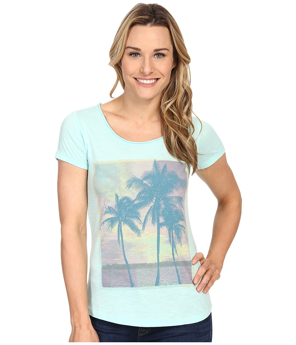 Columbia Sunset Cove Short Sleeve Tee (Ocean Water Heather) Women