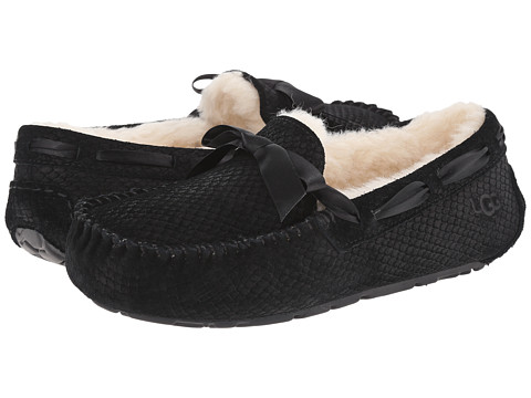 UGG - Dakota Exotic Scales (Black) Women's Slippers