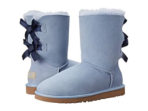 UPC 737045870878 product image for UGG - Bailey Bow (Horizon Blue/Peacoat) Women's