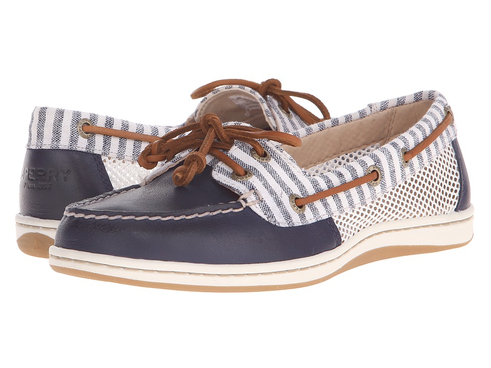 Sperry Top-Sider Firefish Stripe Mesh (Navy) Women