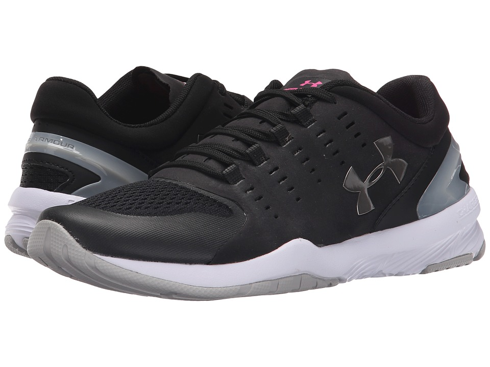 Under Armour - UA Charged Stunner (Black/Aluminum/Metallic Pewter) Women's Cross Training Shoes