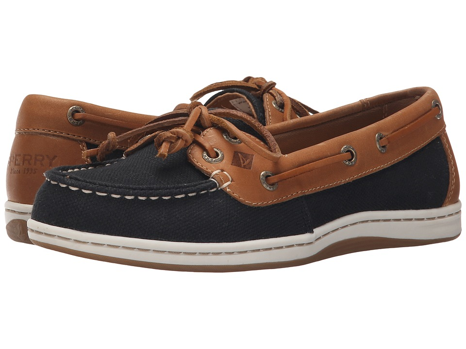 Sperry Top-Sider Firefish Nubby Canvas (Black) Women