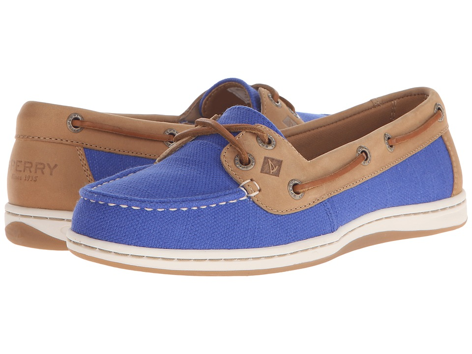 Sperry Top-Sider - Firefish Nubby Canvas (Baltic Blue) Women's Lace up casual Shoes