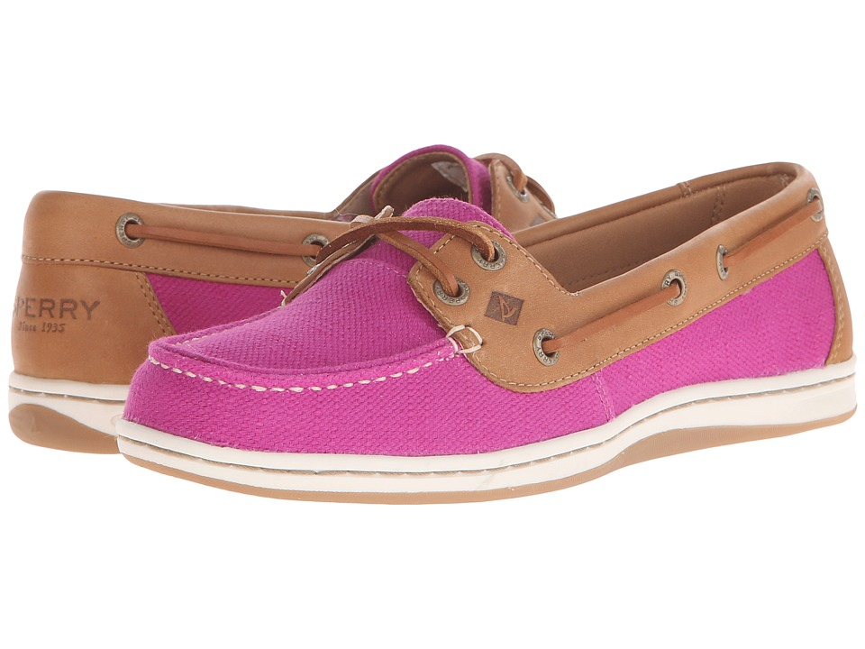 Sperry - Firefish Nubby Canvas (Bright Pink) Women's Lace up casual Shoes
