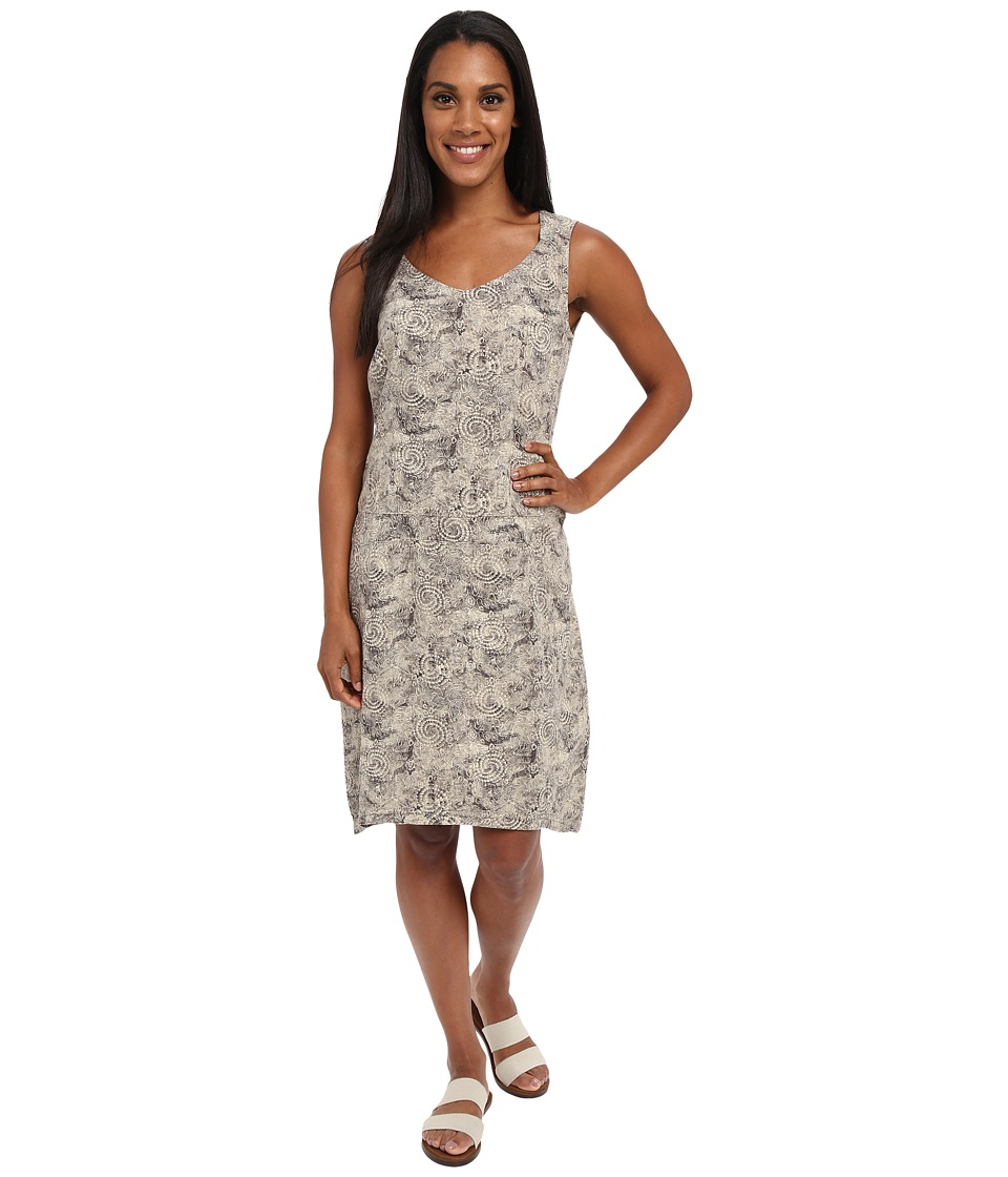 Royal Robbins Panorama Printed Dress (Khaki) Women