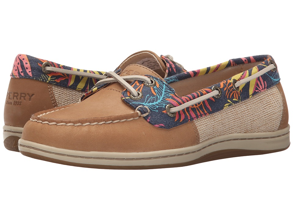 Sperry Top-Sider - Firefish Seaweed Print (Linen) Women