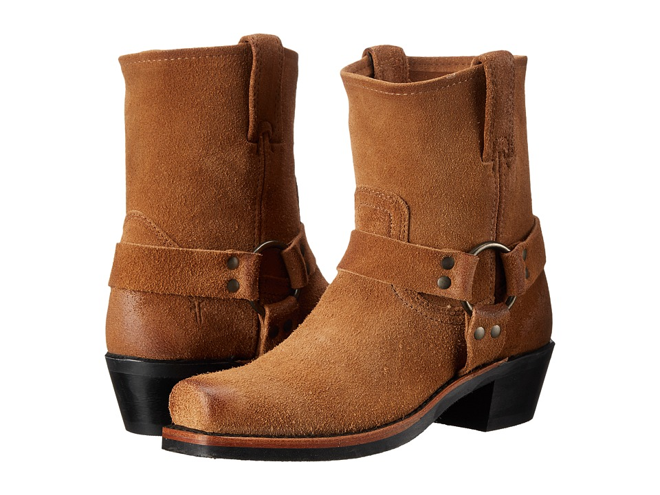 Frye - Harness 8R (Tan Oiled Suede) Women's Pull-on Boots