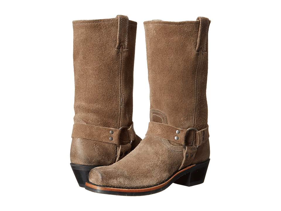 Frye - Harness 12R (Taupe Oiled Suede) Women's Pull-on Boots
